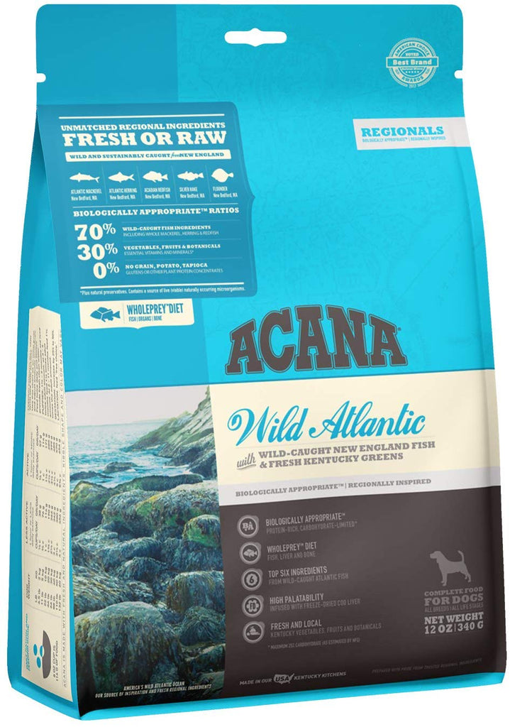 Acana Dry Dog Food Wild Atlantic for Dog 12oz