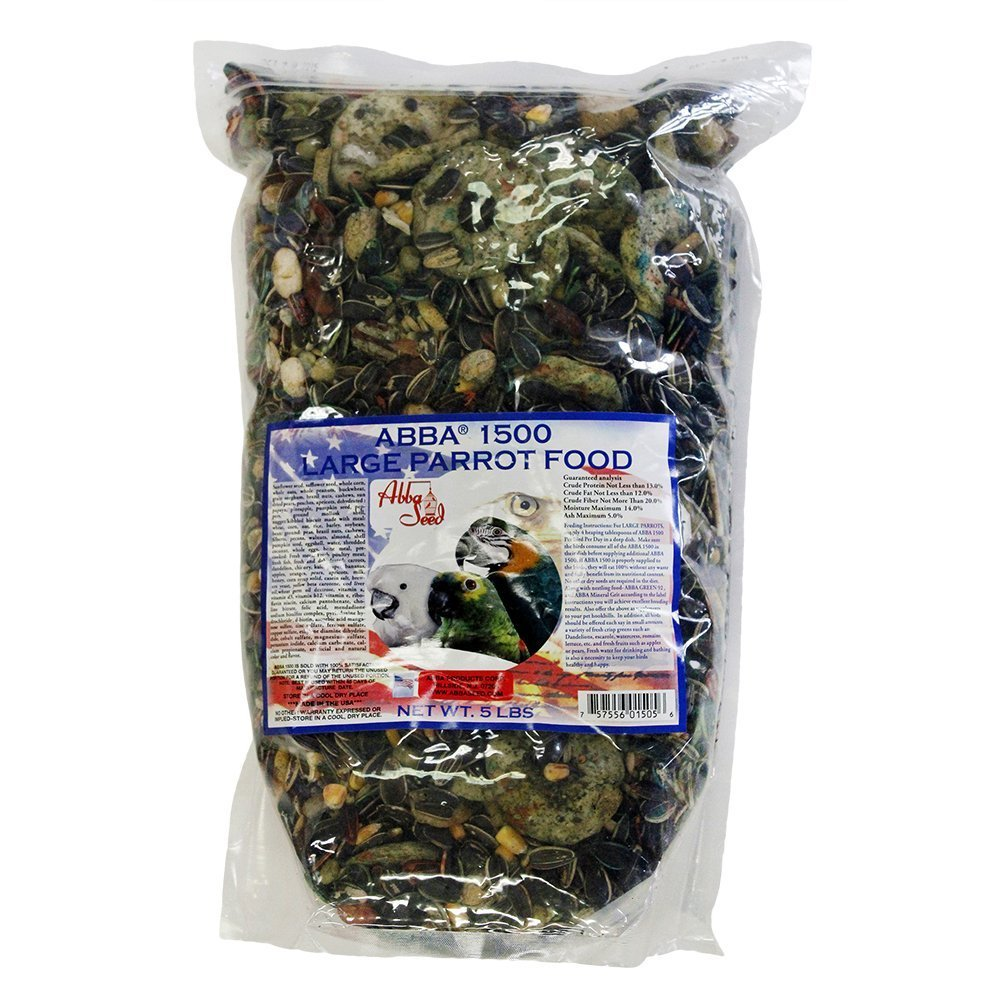 Abba 1500 Large Parrot Food 5#