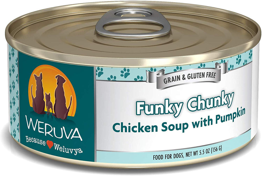Weruva Funky Chunky for Dog 5.5oz