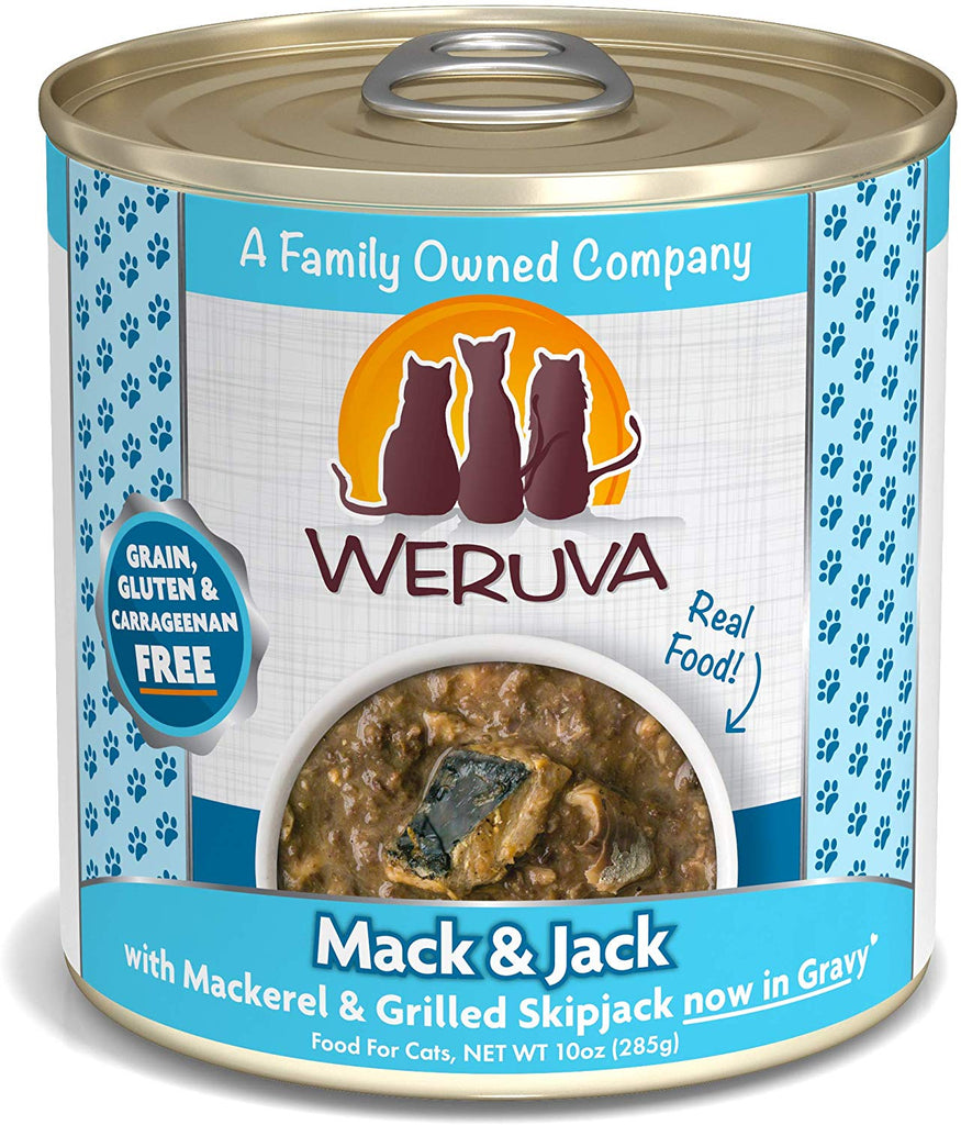 Weruva Wet Cat Food Mack and Jack 10oz