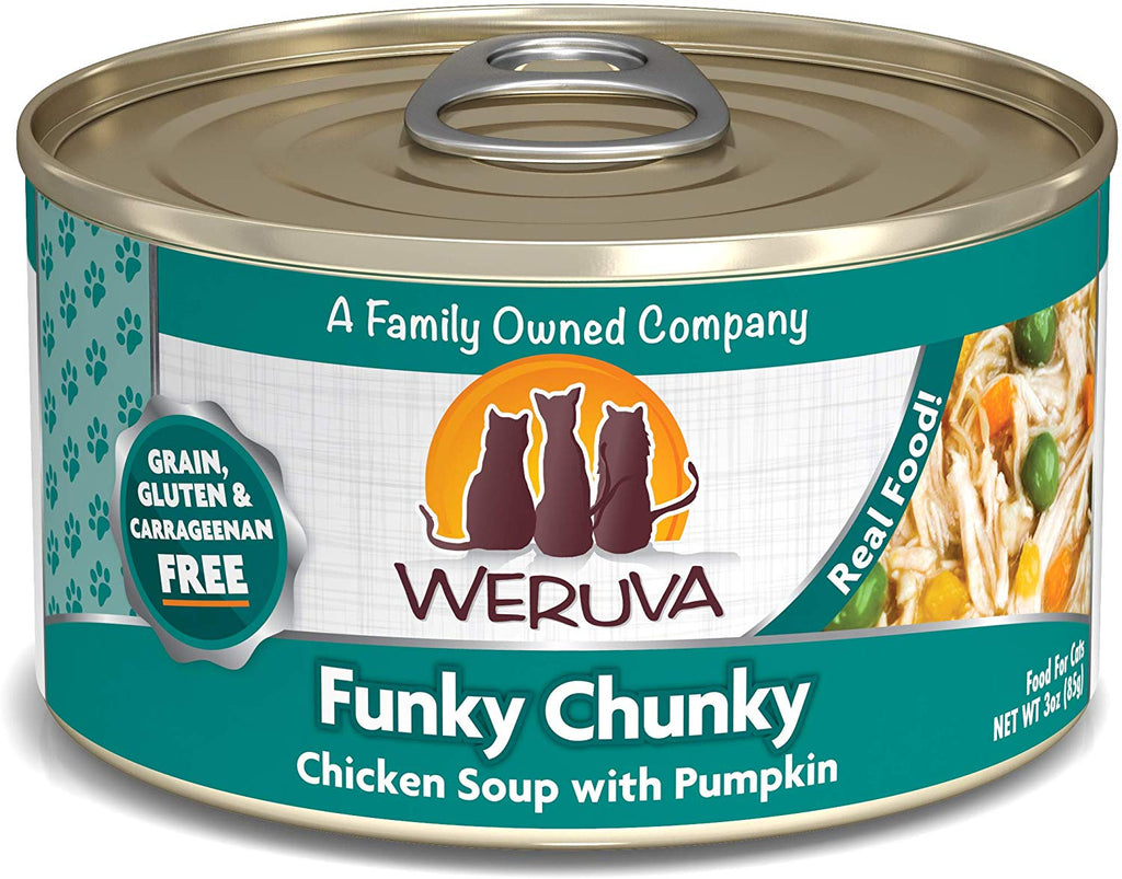 Weruva Wet Cat Food Funky Chunky 3oz