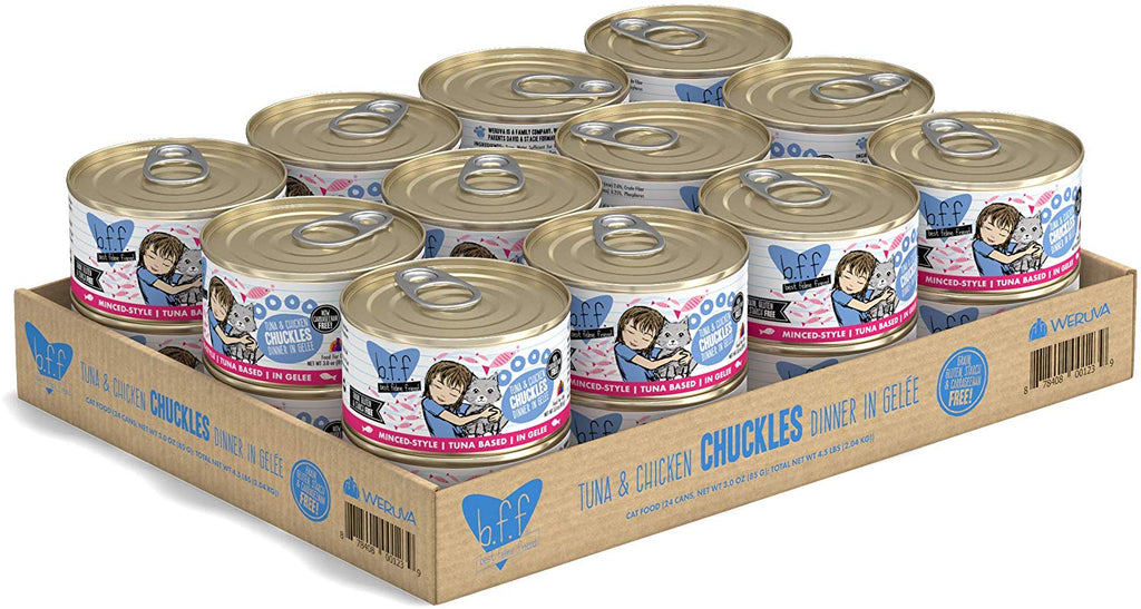 BFF Chuckles Tuna and Chicken 3oz 24/Case