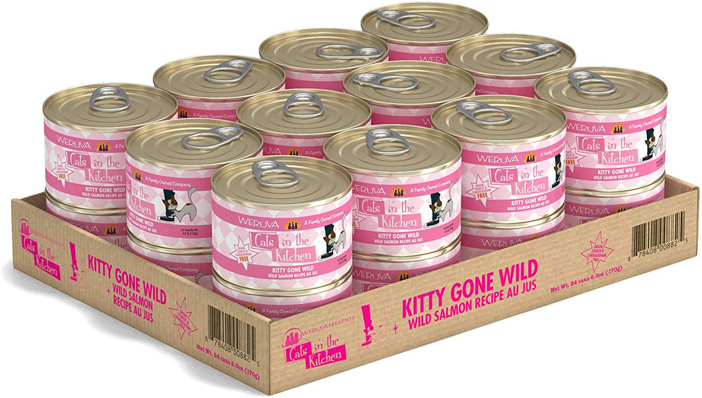 Cat's in the Kitchen Kitty Gone Wild 6oz 24/Case