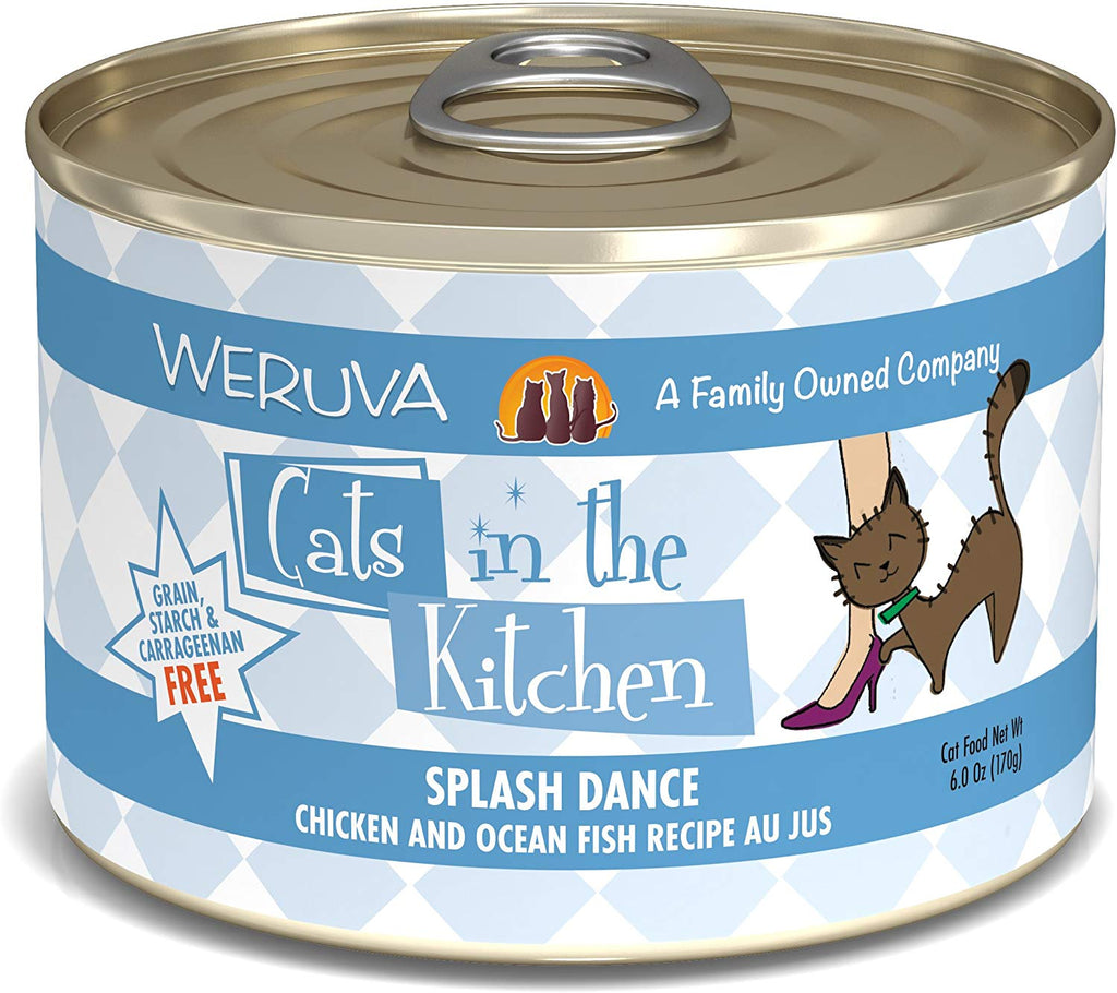 Cat's in the Kitchen Splash Dance 6oz