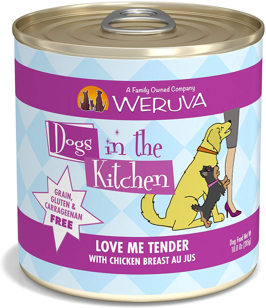 Weruva Dogs in the Kitchen Love Me Tender 10oz 12/Case