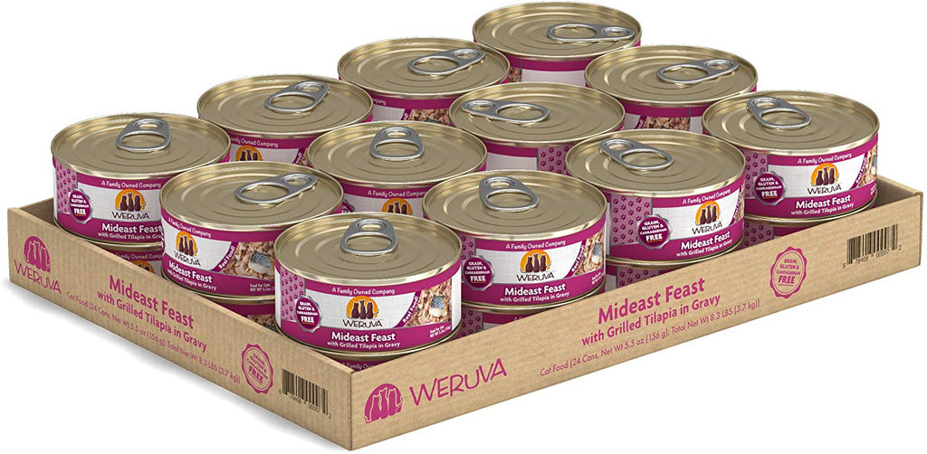 Weruva Wet Cat Food Mideast Feast 5.5oz 24/Case