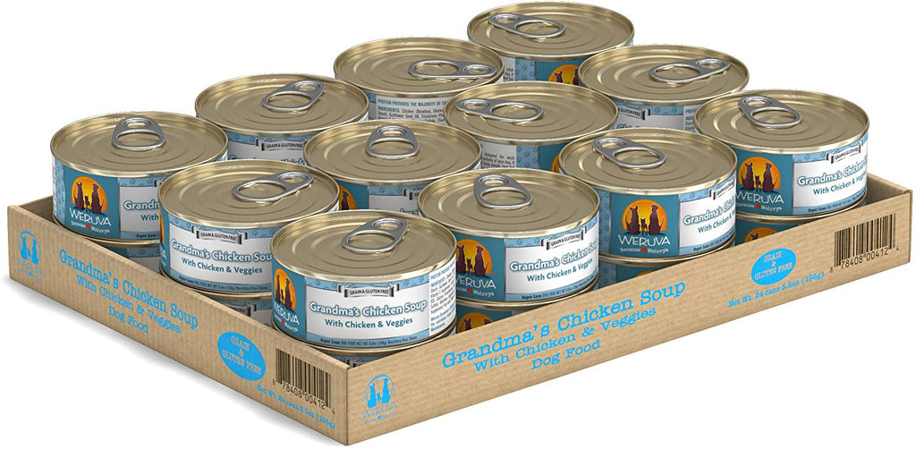 Weruva Grandma's Chicken Soup for Dog 5.5oz Case