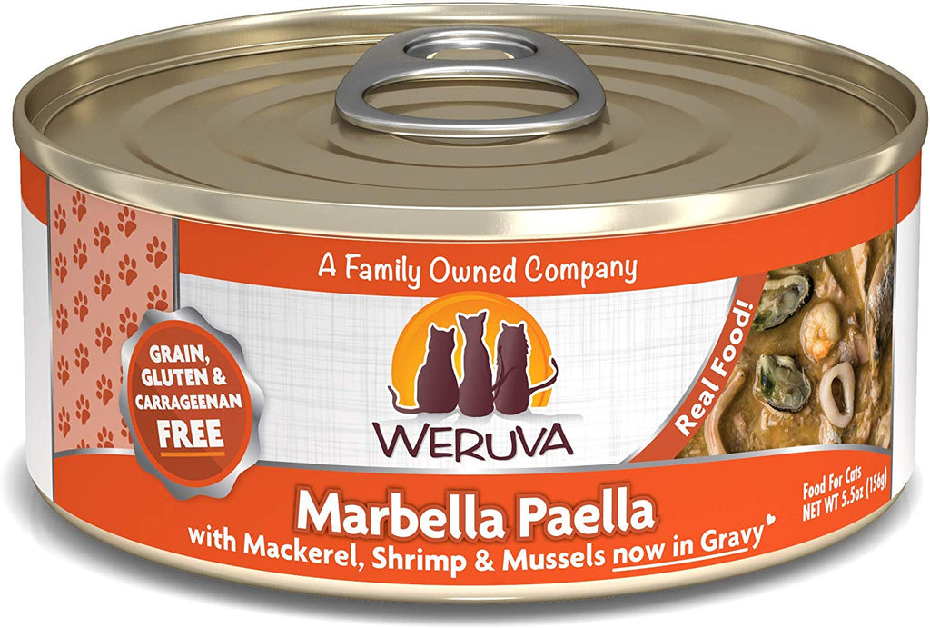 Weruva Wet Cat Food Marbella Paella 5.5oz