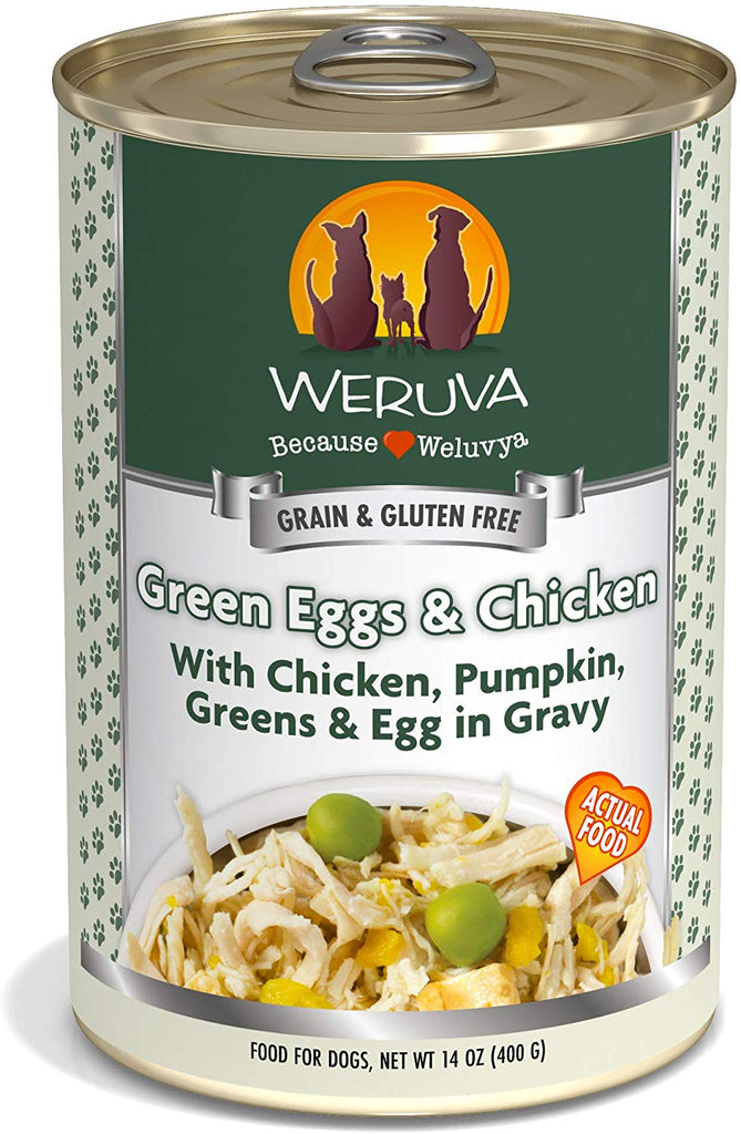 Weruva Green Eggs and Chicken for Dog 14oz