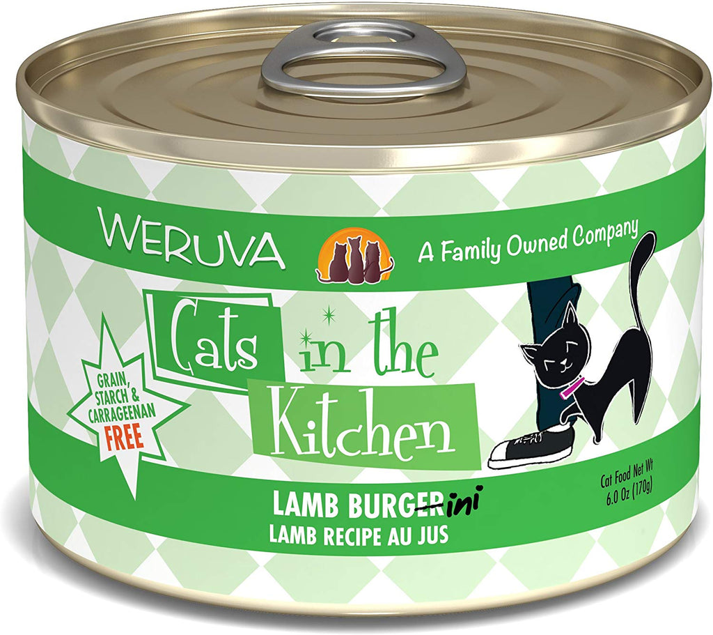 Cat's in the Kitchen Lamb Burgini 6oz