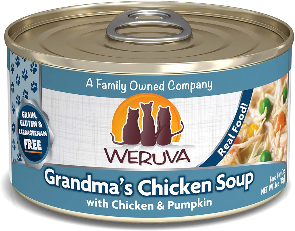 Weruva Wet Cat Food Grandma's Chicken Soup 3oz