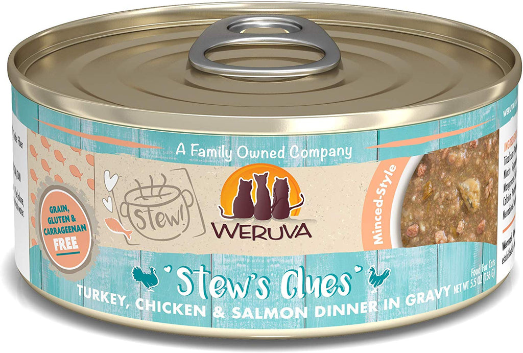 Weruva Cat Stew Stew's Clues 5.5oz