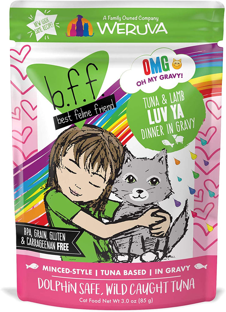 BFF Luv Ya Tuna and Lamb Pouch 3oz