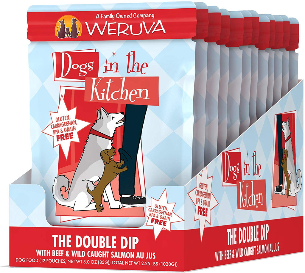 Weruva Dogs in the Kitchen The Double Dip 2.8oz 12pk