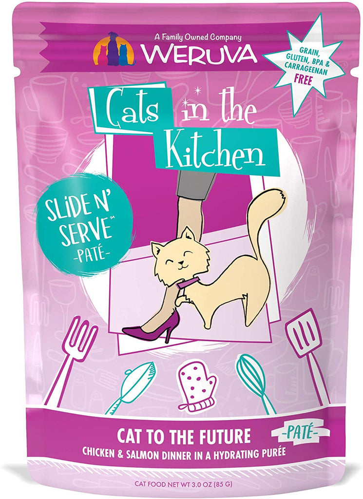 Weruva Cats in The Kitchen Slide N Serve Cat To The Future 3oz