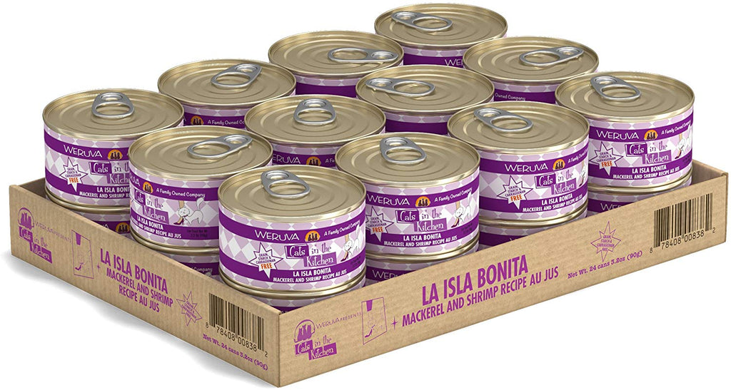 Cat's in the Kitchen La Isla Bonita 3.2oz 24/Case