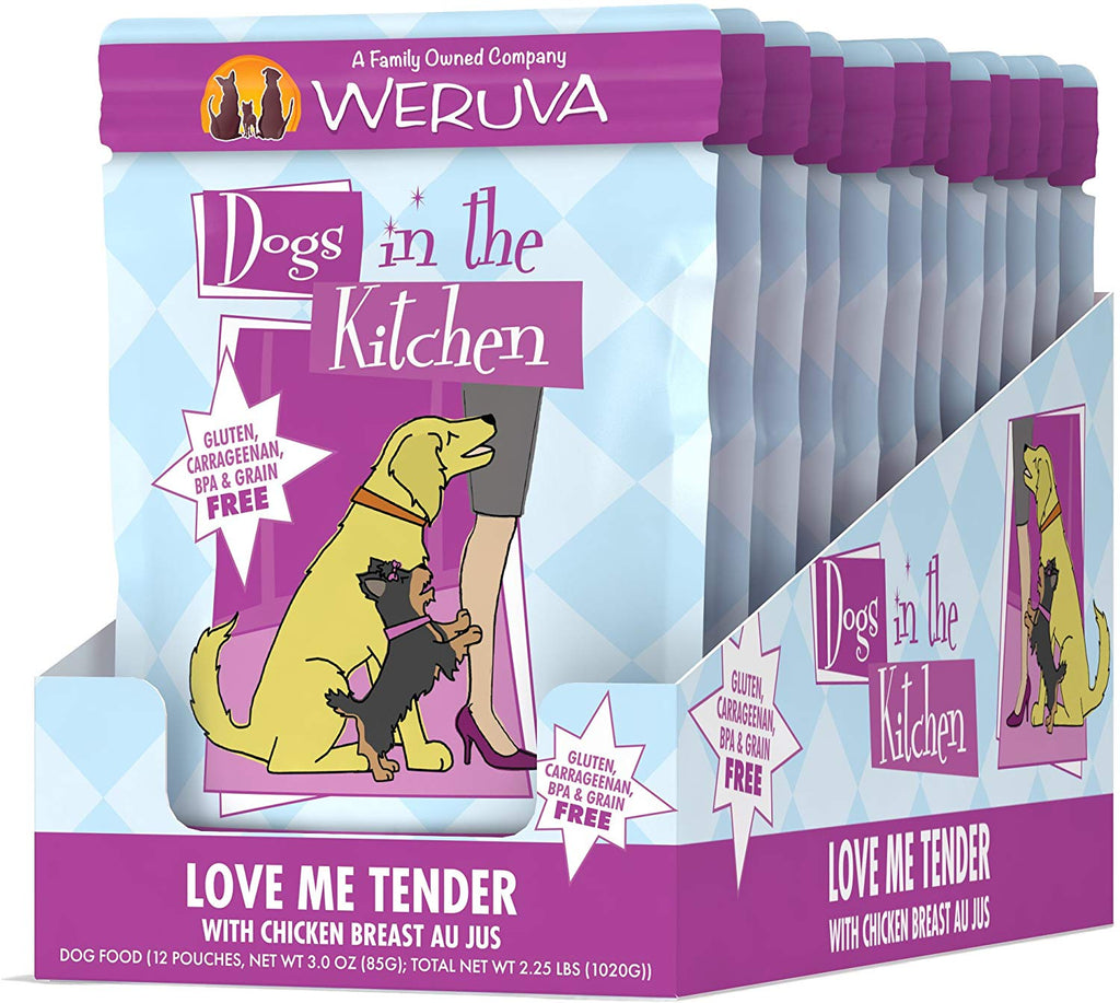 Weruva Dogs in the Kitchen Love Me Tender 2.8oz 12pk