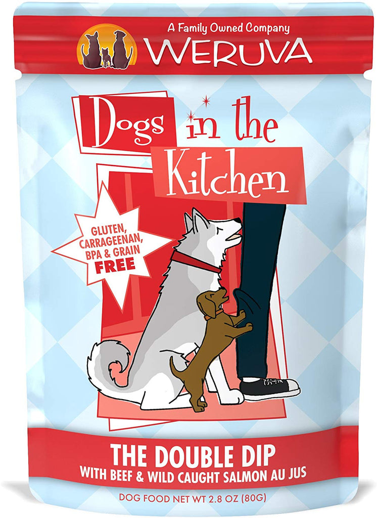 Weruva Dogs in the Kitchen The Double Dip 2.8oz Pouch