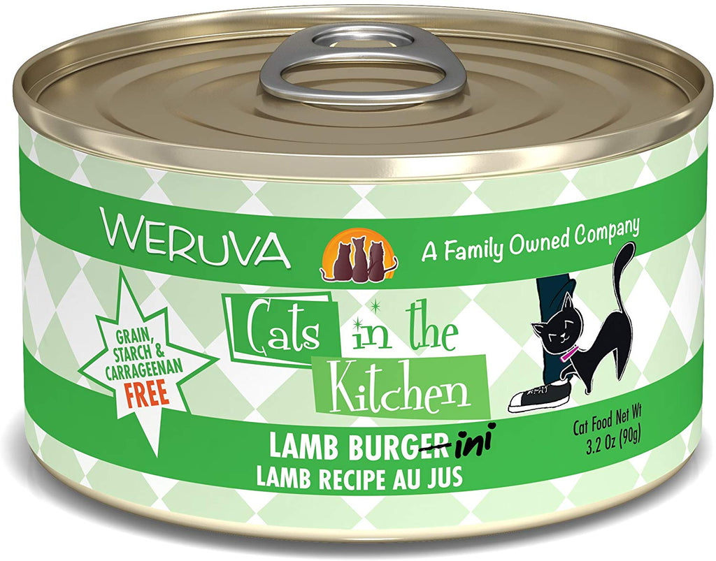 Cat's in the Kitchen Lamb Burgini 3.2oz