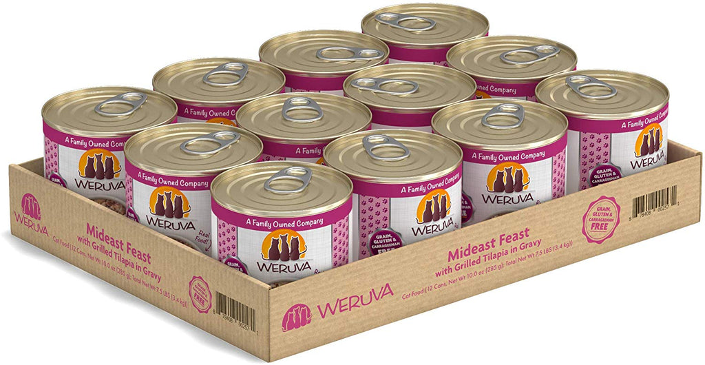 Weruva Wet Cat Food Mideast Feast 10oz 12/Case