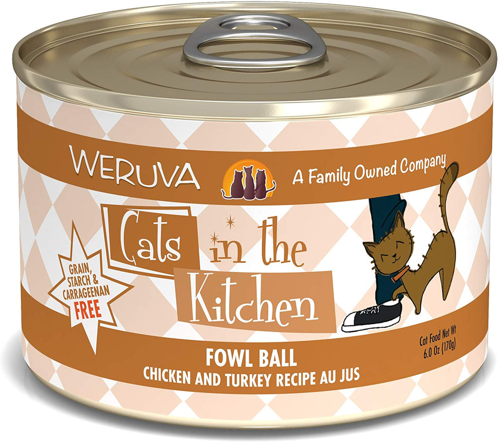 Cat's in the Kitchen Fowl Ball 6oz