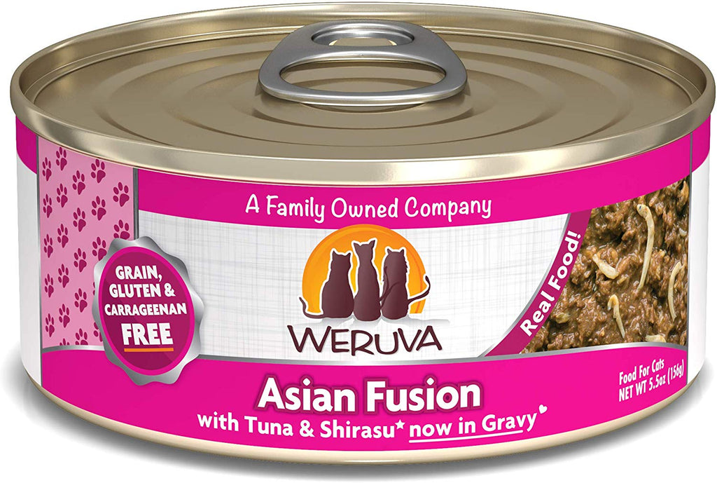 Weruva Wet Cat Food Asian Fusion 5.5oz