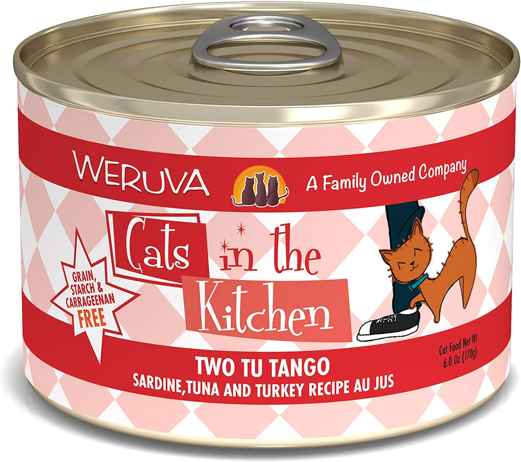 Cat's in the Kitchen Two Tu Tango 6oz