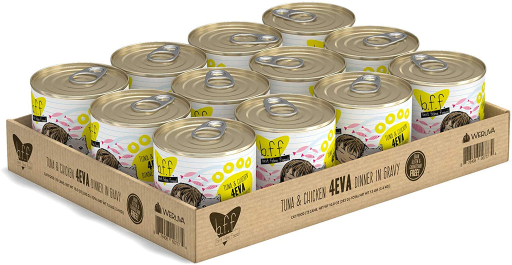BFF 4Eva Tuna and Chicken 10oz 12/Case