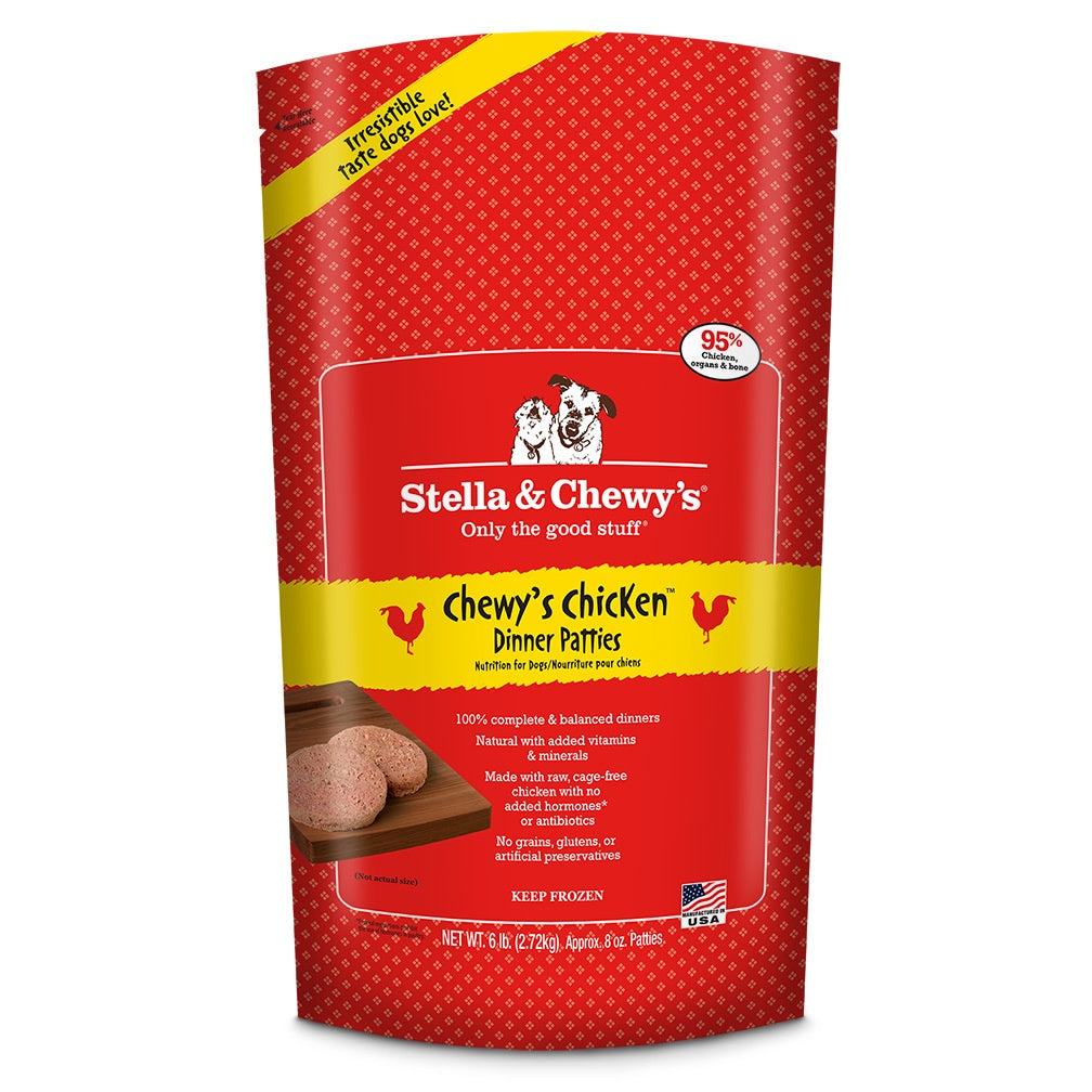 Stella & Chewy's Frozen RAW Chewy's Chicken for Dogs 6lb