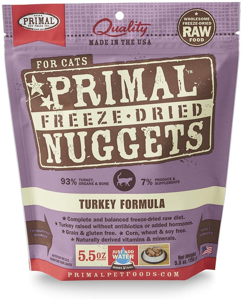Primal Freeze Dried Turkey for Cat 5.5oz