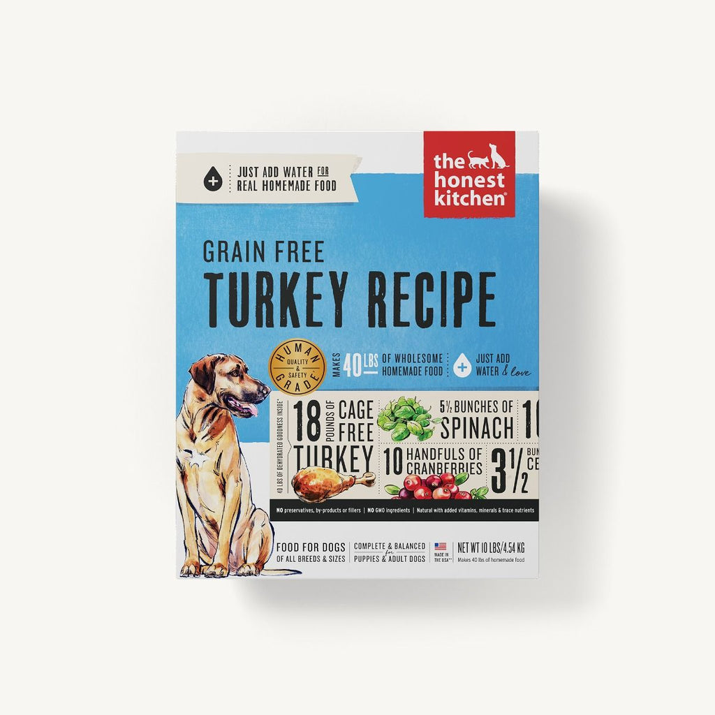 The Honest Kitchen Grain Free Turkey 10lb