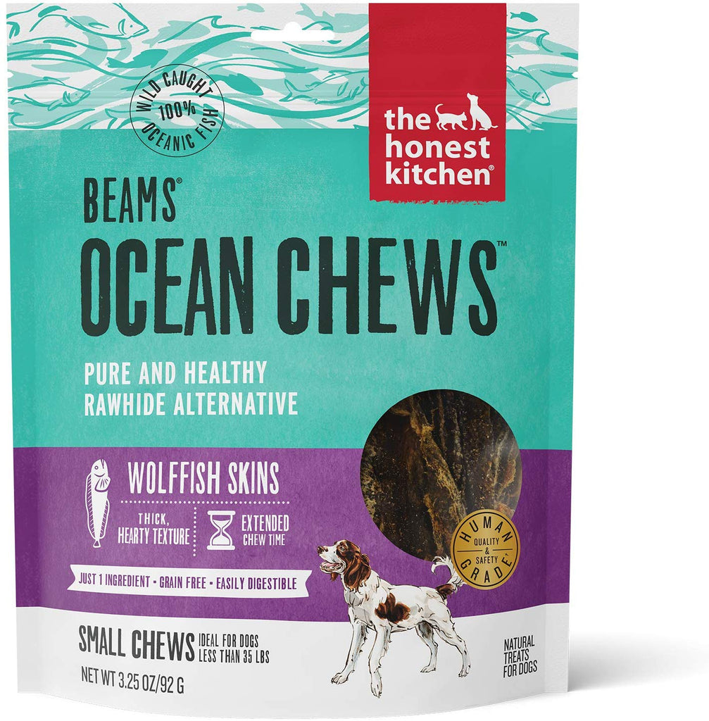 The Honest Kitchen BEAMS Small Icelandic Wolffish Skins 3.25oz