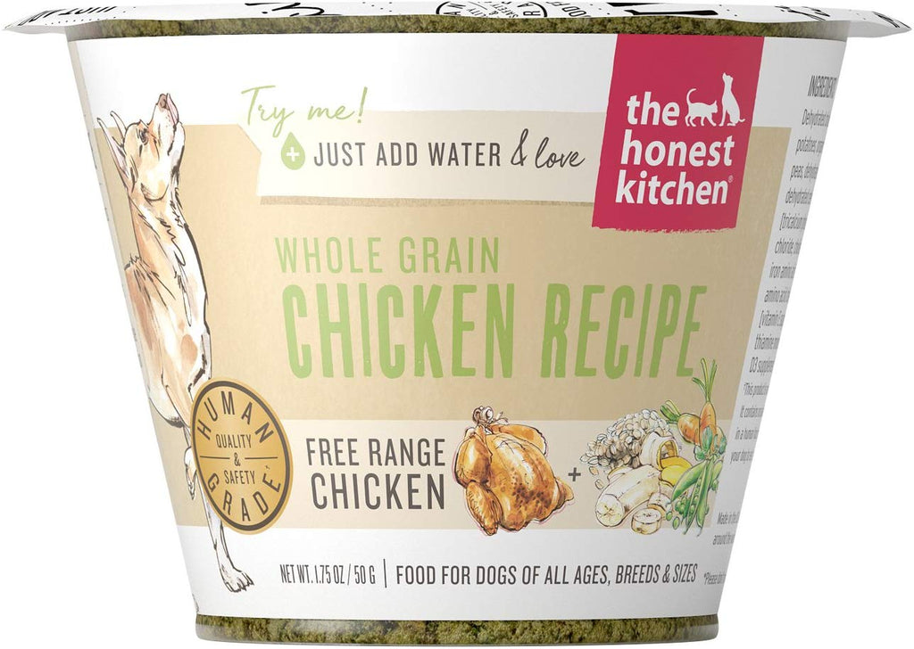 The Honest Kitchen Whole Grain Chicken 1.75oz Cup