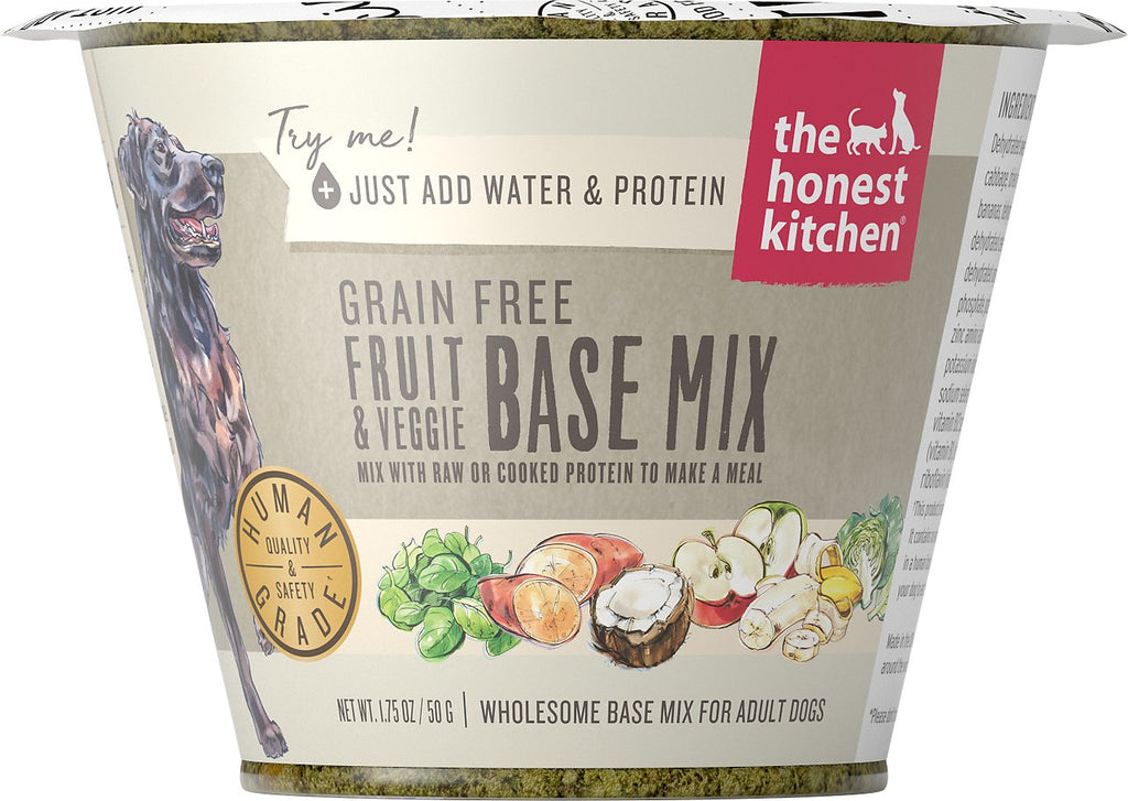 The Honest Kitchen Dog Grain Free Fruits Veggie 1.75oz Cup
