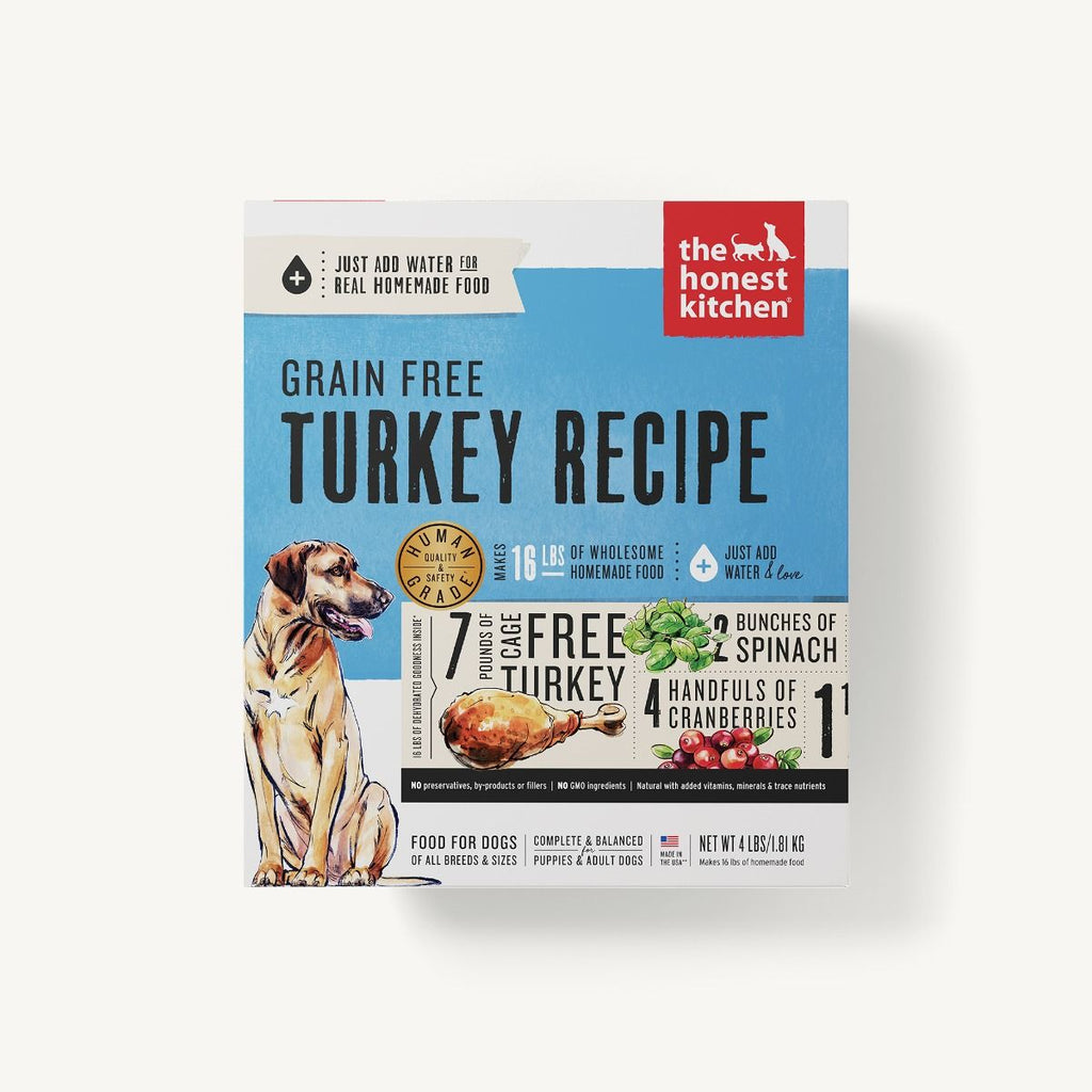The Honest Kitchen Grain Free Turkey 4lb