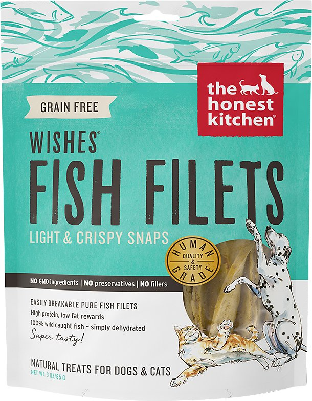 The Honest Kitchen WISHES Haddock Treats 2oz