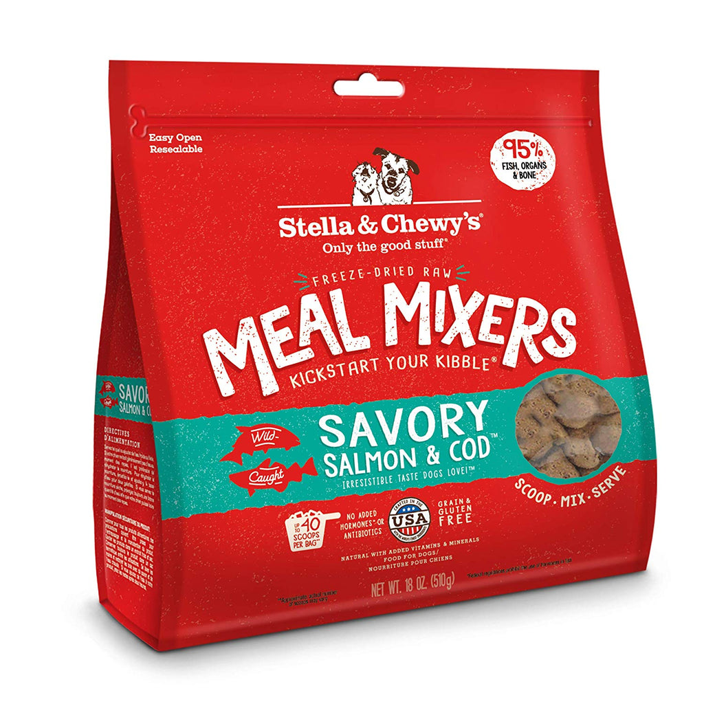 Stella & Chewy's Meal Mixers Savory Salmon and Cod 18oz
