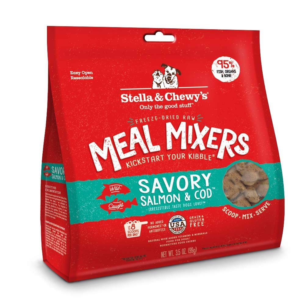 Stella & Chewy's Meal Mixers Savory Salmon and Cod 3.5oz