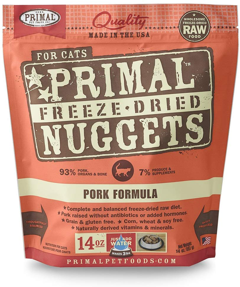 Primal Freeze Dried Pork for Cat 14oz