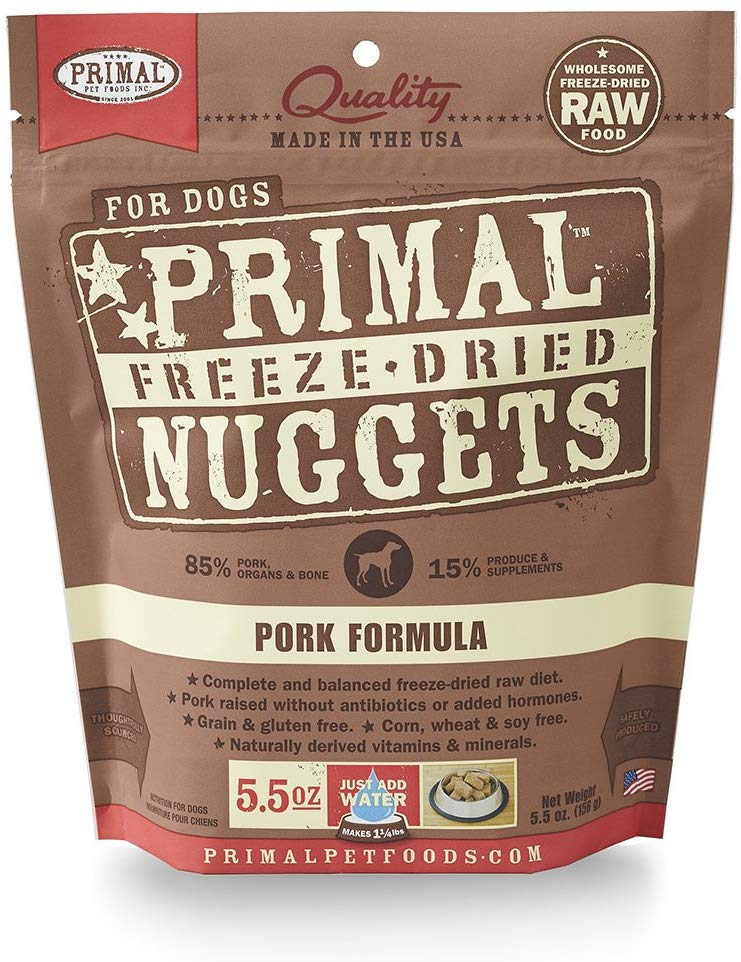 Primal Freeze Dried Pork for Dog 5.5oz
