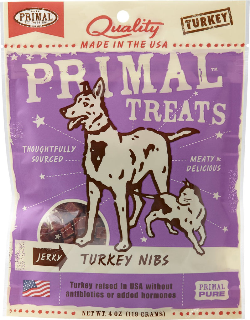 Primal Treats Turkey Nibs 4oz