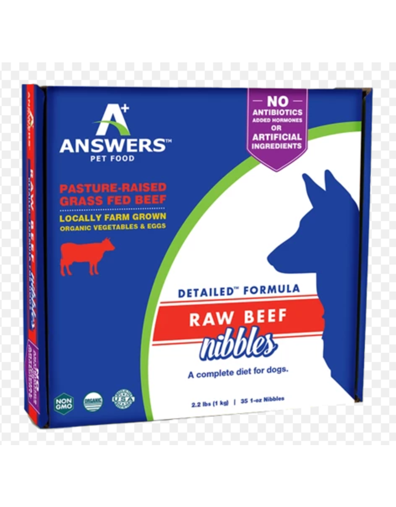Answers Detailed Beef Nibbles 2.2lb