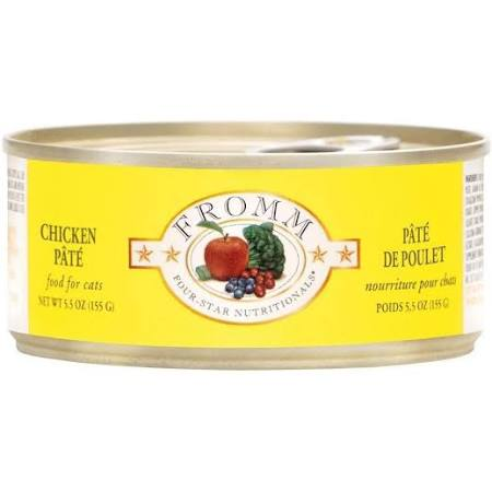 Fromm 4 Star Chicken Pate 5.5oz 12/CS