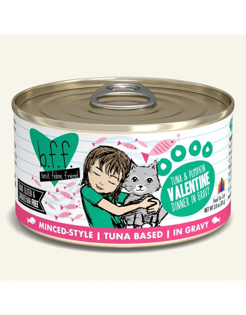 BFF Valentine Tuna and Vegetables 3oz