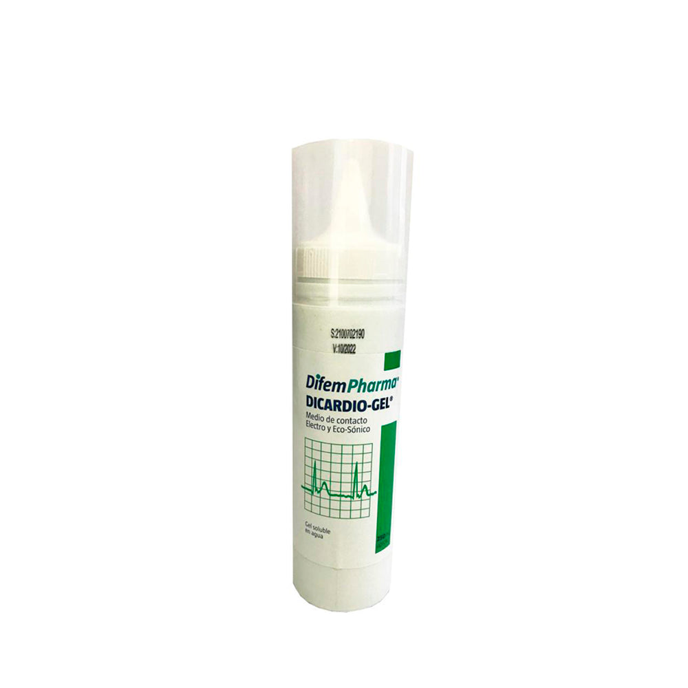 Gel Conductor Ultrasonido Dicardio Gel Bidón  Frasco 250cc