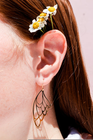 Fly Free Drop Earrings