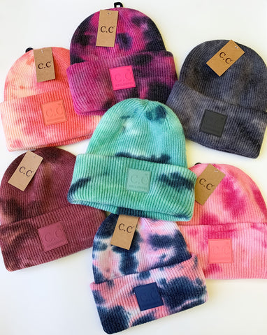 To Tie-Dye For Beanie