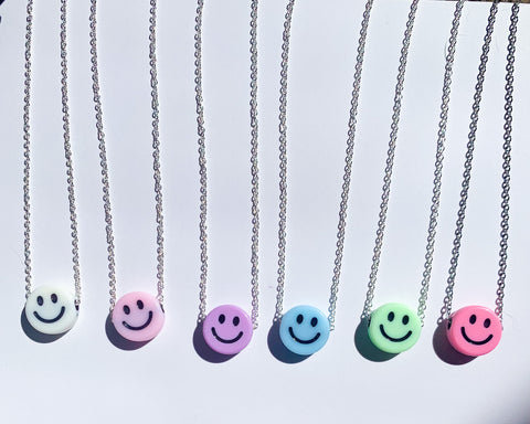Smiley Miley Handmade Necklace