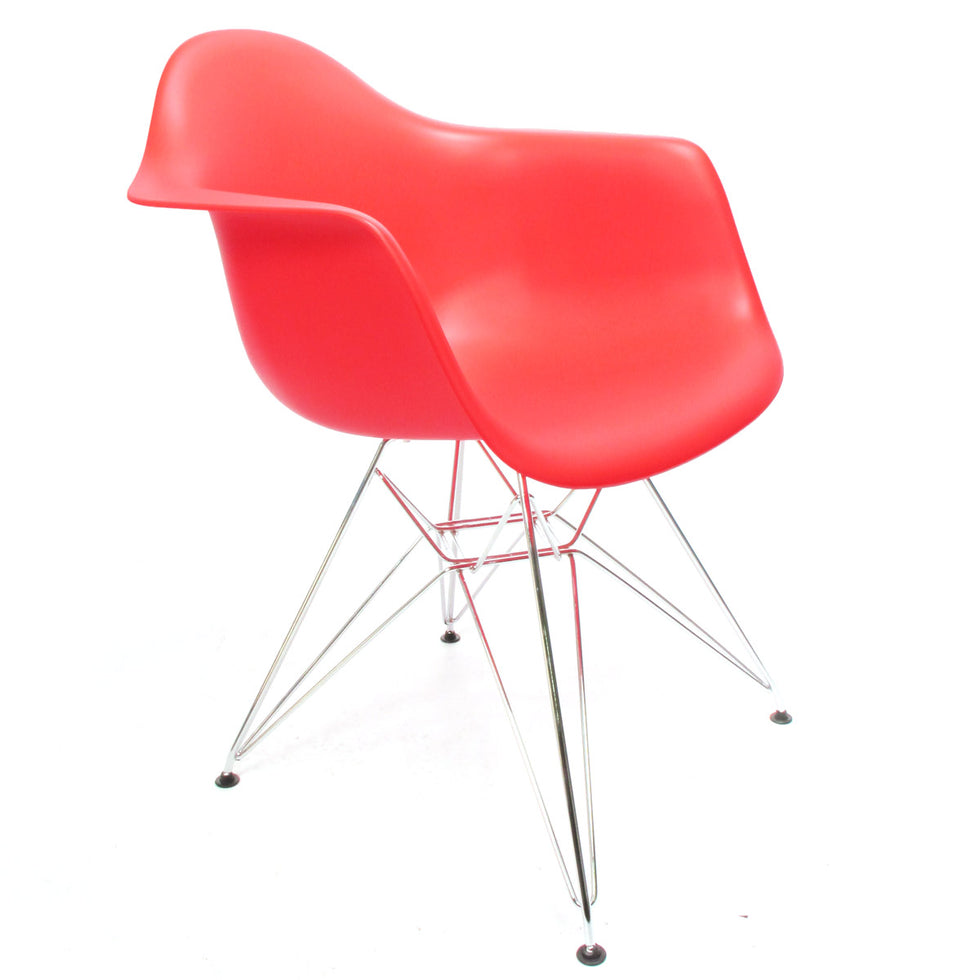 Eames DAR chair rood - Charles & Ray Eames chairs