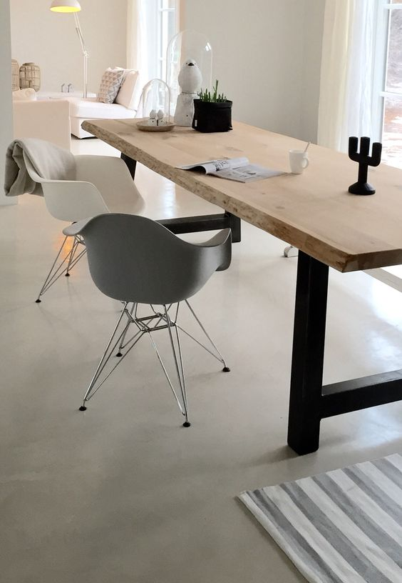 Eames DSR Chair zwart - Charles & Ray Eames